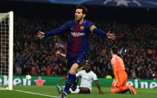 Barca Lolos ke 8 Besar Liga Champions 2017-2018
