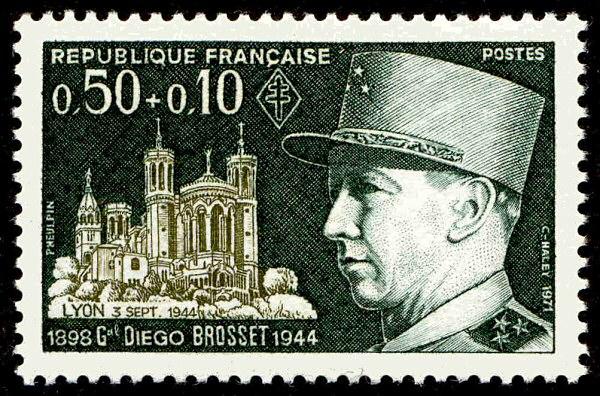 Général Diego Brosset 1944