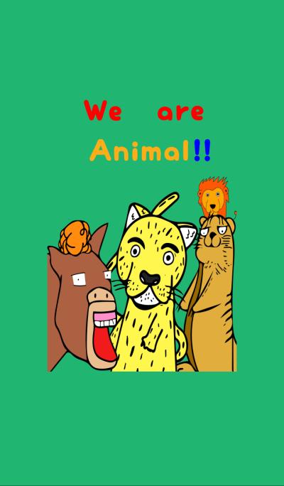 we are animal kisekae!