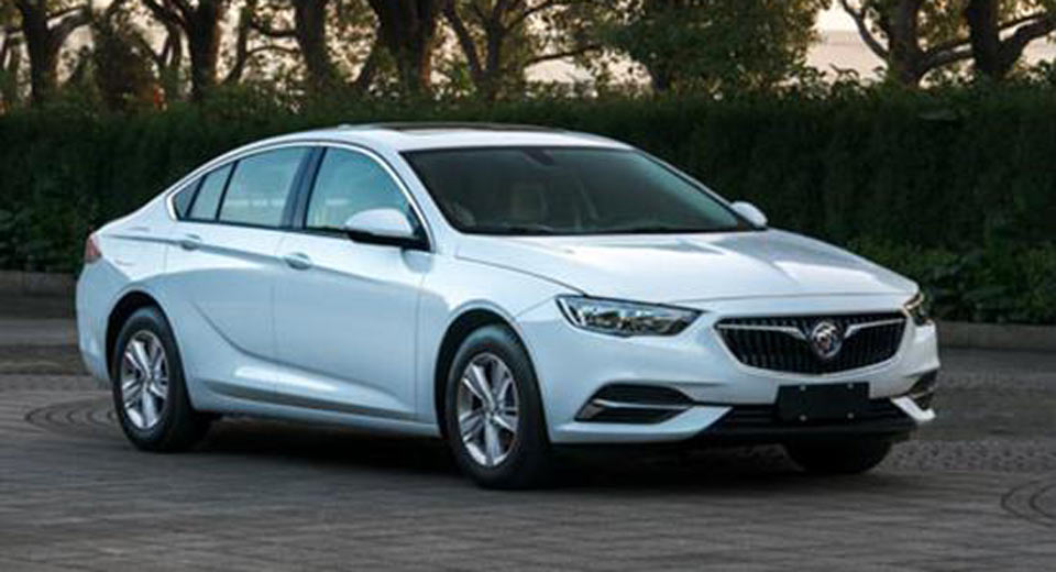 2018 buick regal leaks ahead of chinese debut. Black Bedroom Furniture Sets. Home Design Ideas