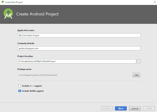 Create Your First Android Project with Kotlin