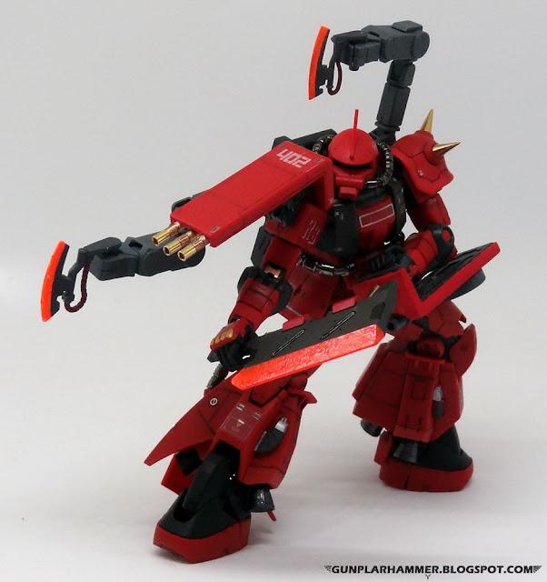 Full Bullet Zaku Prototype