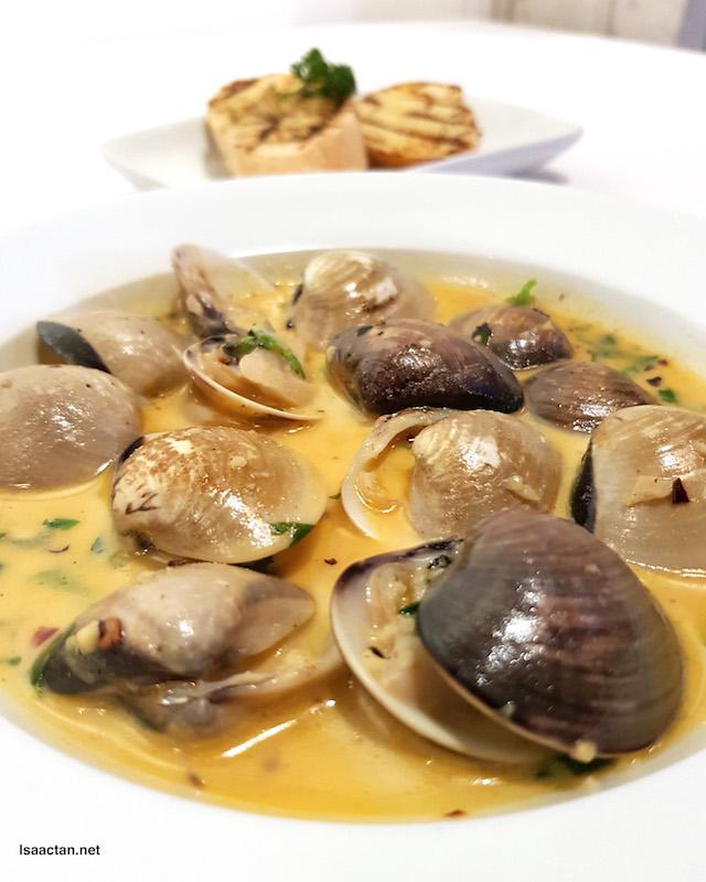Chilli Garlic Vongole - RM15