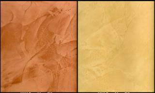 contoh cat fresco stucco