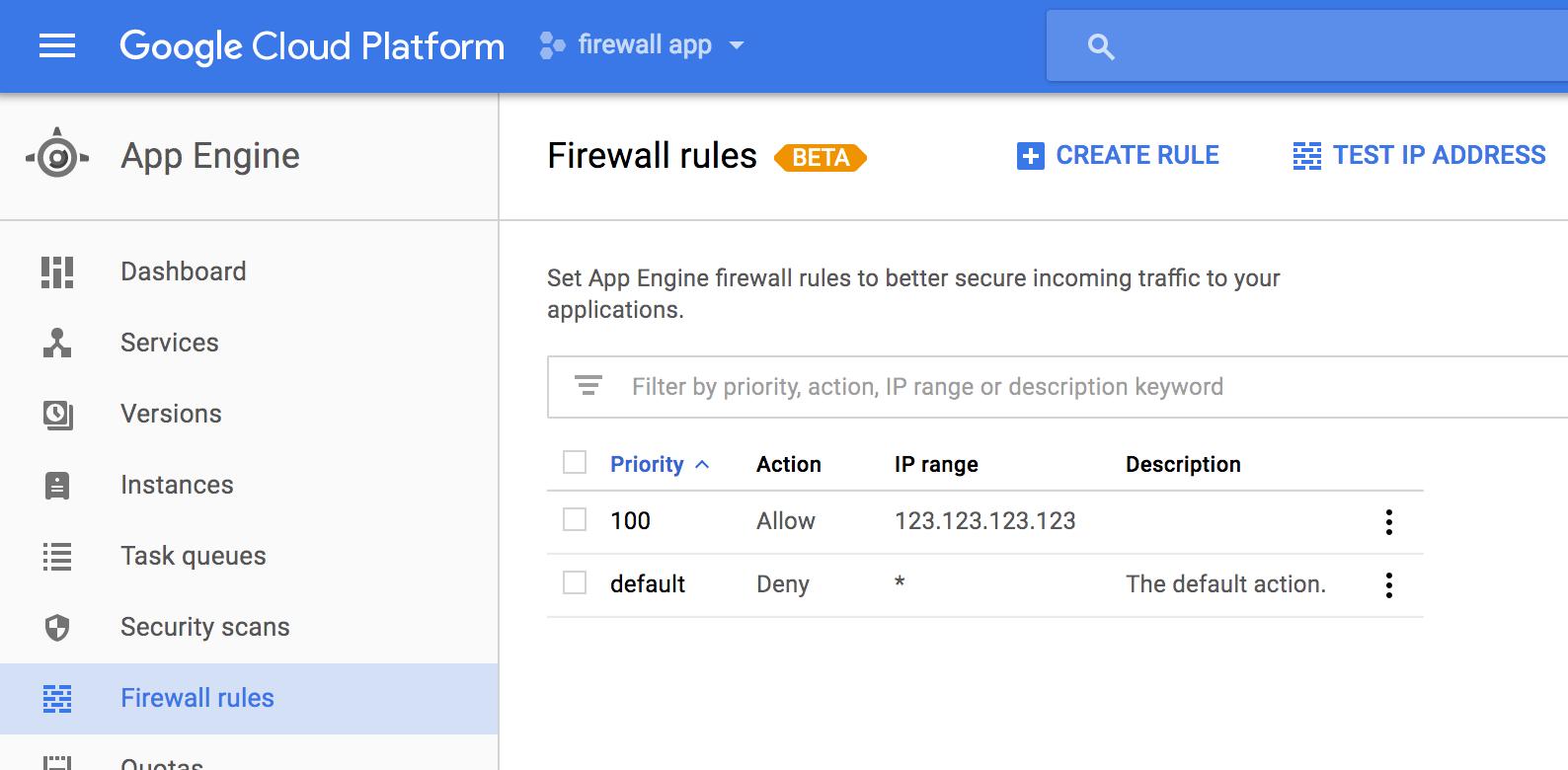Google Cloud Platform Blog Introducing App Engine Firewall An Easy