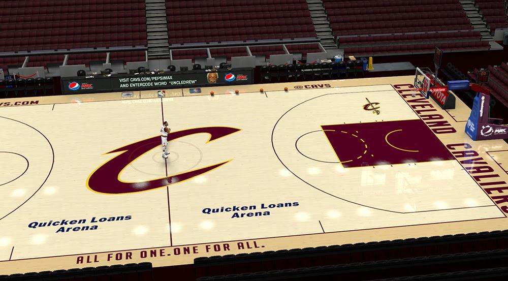 Nba 2k14 Cleveland Cavaliers Court Update Nba2k Org