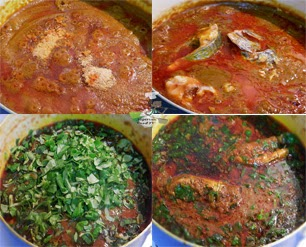 Abak Mbakara (sea food palmnut soup), nigerian soup recipes, nigerian soups, Nigerian food tv