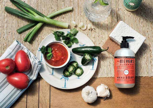 Easy and Fresh Garden Salsa recipe