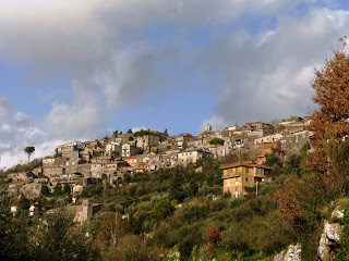 Castro dei Volsci sits on a hillside in Ciociaria