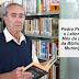 Sr. Pedro Peres é eleito pela 4a vez o Leitor do Mês da Biblioteca Municipal