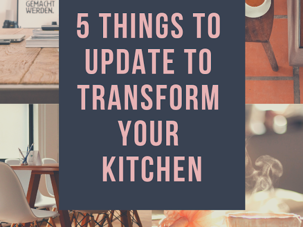 5 things to update to change your kitchen