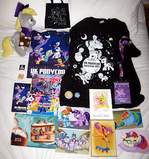 UK PonyCon 2015 merch haul