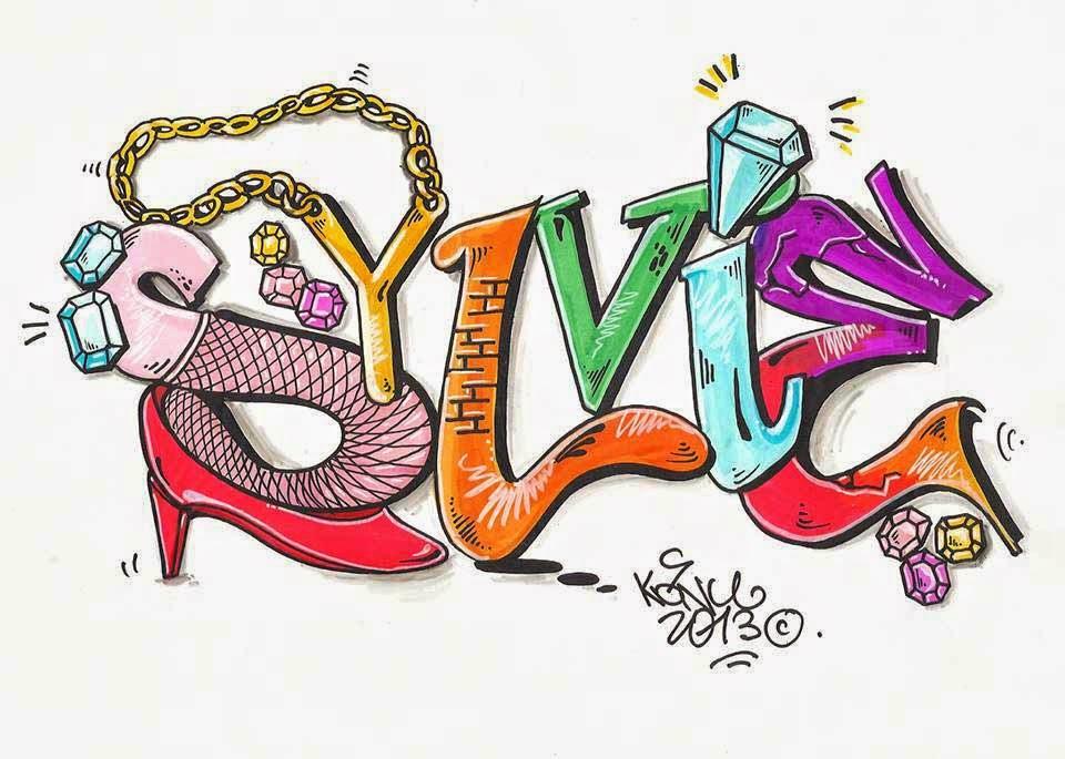 Ex spray prenoms - Prenom en dessin ...