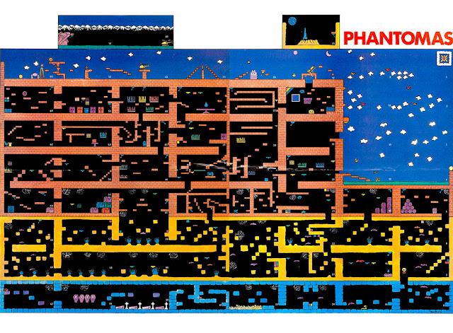 Micromanía Primera época 14 póster Phantomas