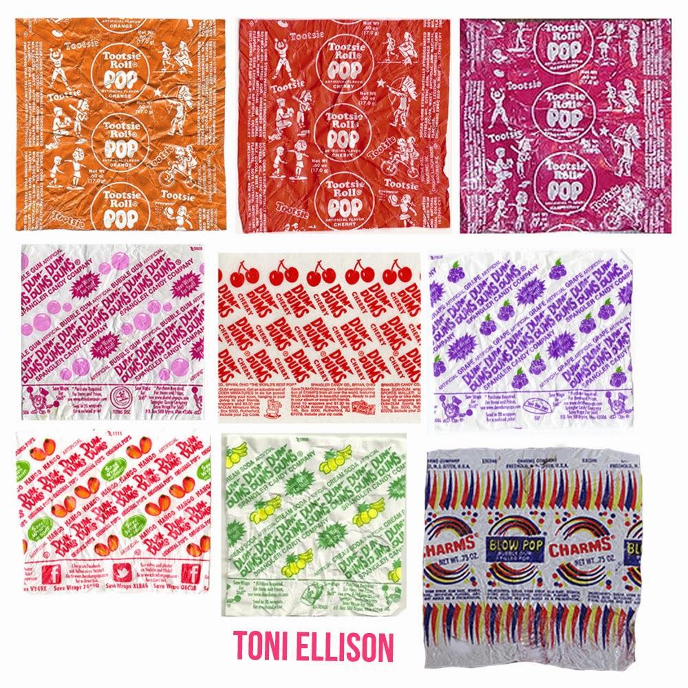 Toni Ellison: Halloween Candy Wrapper Templates