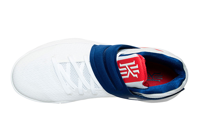 sports shoes 53768 8dbf7 ... Nike Kyrie 2 July 4th USA Official Images ...