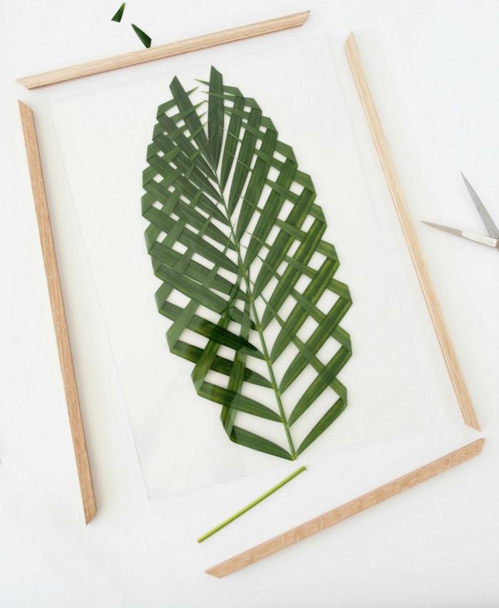 Una Pizca de Hogar: Cómo hacer un cuadro con plantas naturales