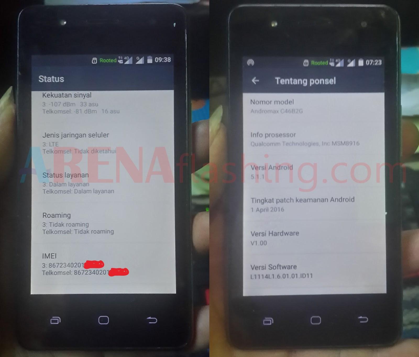 Tutorial Dual Gsm 4g Andromax Es C46b2g Tanpa Pc Tutorial Flashing Android Upgrade Downgrade Firmware Unbrick