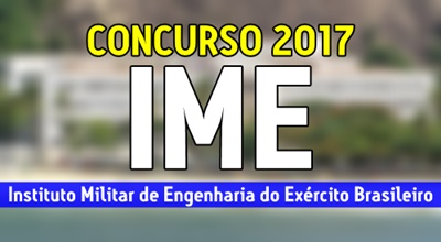 concurso IME Exército 2017