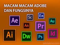 20 Macam Adobe dan Fungsinya, Lengkap!