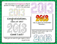 Make 2013 word clouds using these clip art images