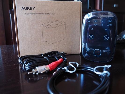 Aukey BR-O8: Contenido de la caja