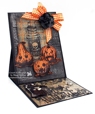 Easel Card for Halloween