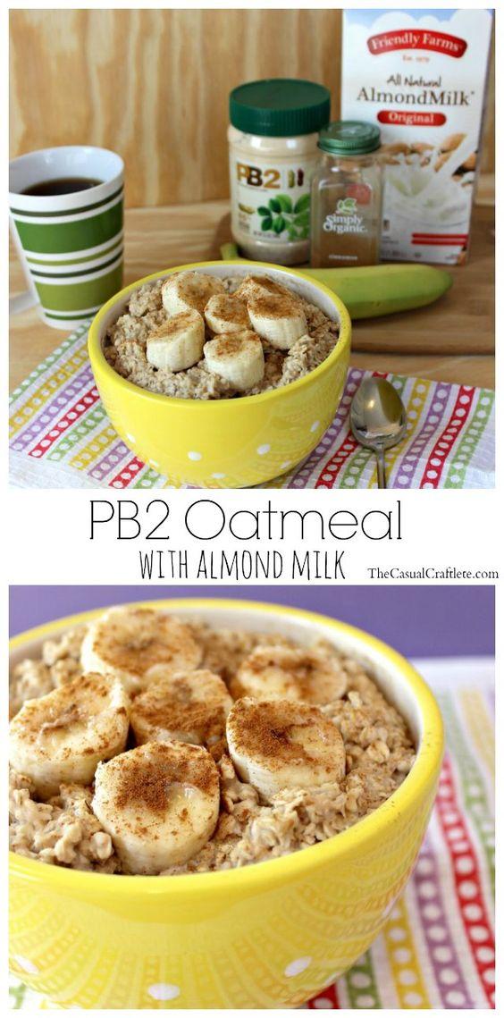 Healthy PB2 Oatmeal