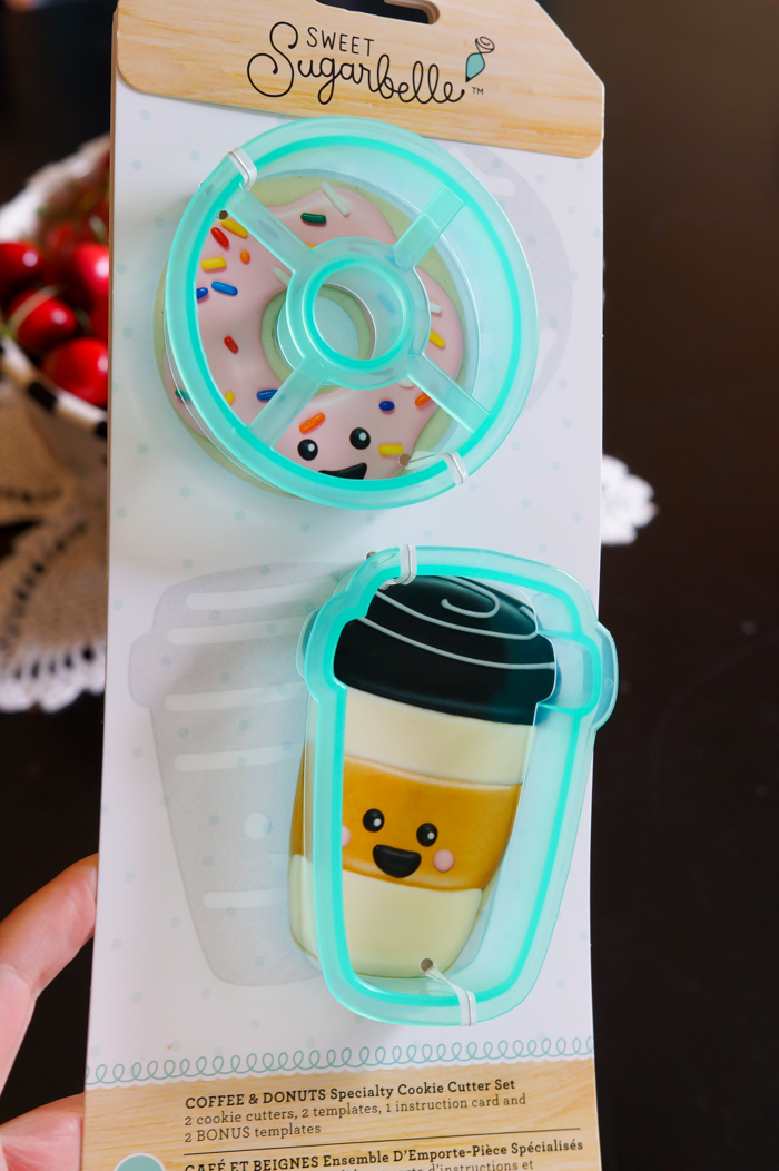sugarbelle donut and latte cookie cutters