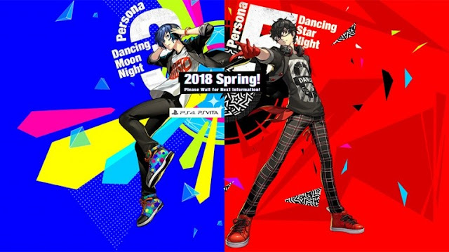 الكشف عن أول الصور للعبة Persona 5 Dancing و Persona 3 Dancing
