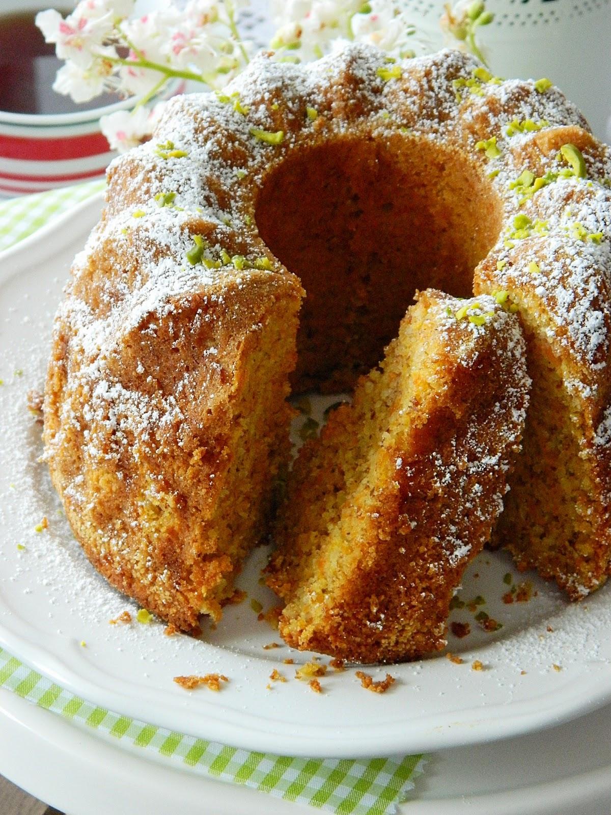 Dr Ola S Kitchen Carrot Almond Cake M 246 Hren Gugelhupf