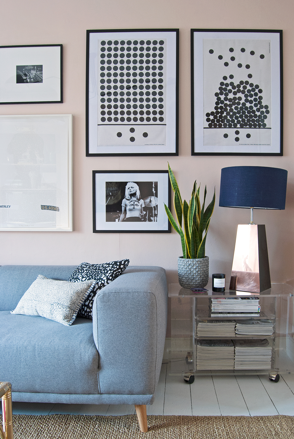 New Year, New Look In The Living Room - French For Pineapple Blog