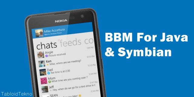 Download Aplikasi BBM untuk Java dan Symbian Gratis!