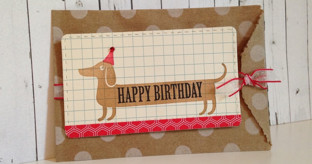 let's make a card birthday treat