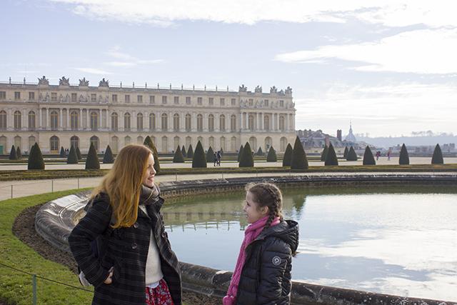Amanda Laboredo em Versailles