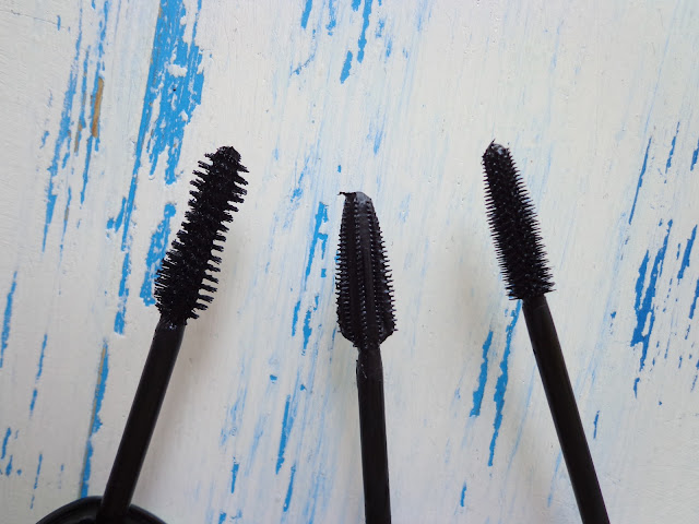 Avon, Rimmel and L'Oreal Mascara Brushes