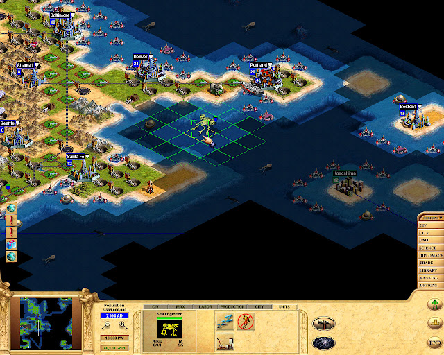 Civilization: Call to Power Sea Engineer