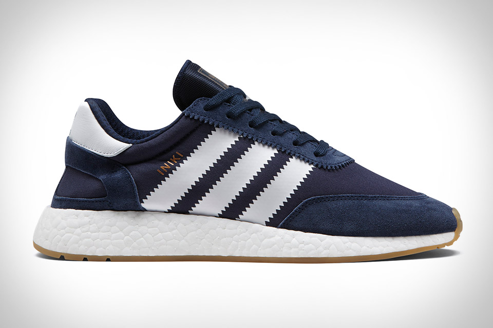 online store 41ec1 11c57 Drawing on  70s running shoe design, the Adidas Iniki Runner offers  old-school simplicity with all-day comfort. The upper, a mix of ...