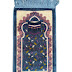 Kids Teal Blue Kabah Prayer Rug