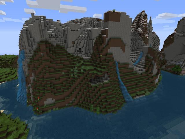 montañas de minecraft