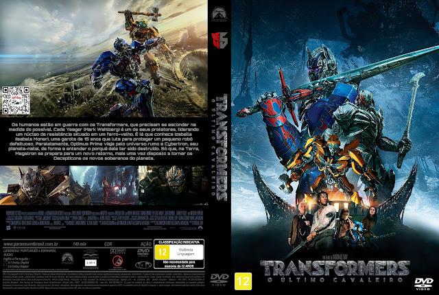 Capa DVD Transformers O Último Cavaleiro [Exclusiva]