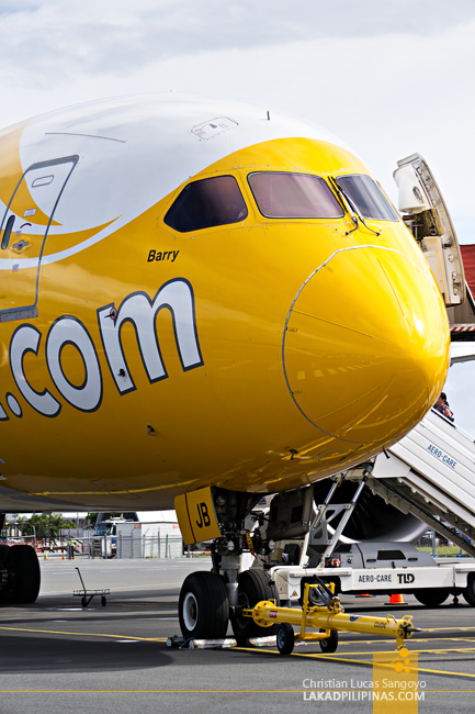 Scoot Review Manila to Singapore to Australia Barry Boeing Dreamliner 787