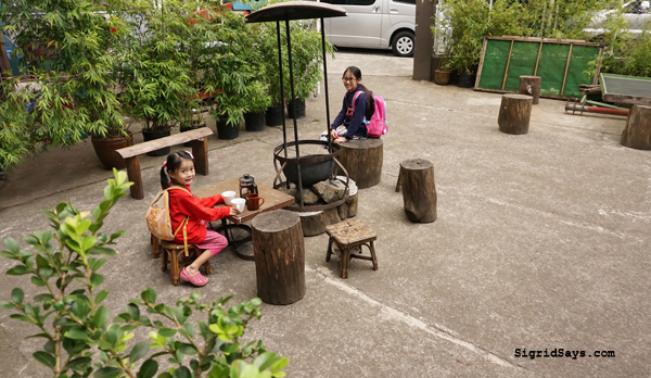 Baguio City - DIY family trip - Cafe Yagam