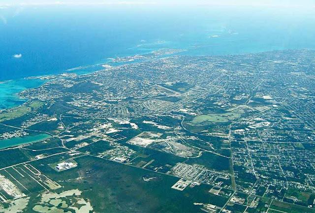 Vista aérea de Nassau - Bahamas