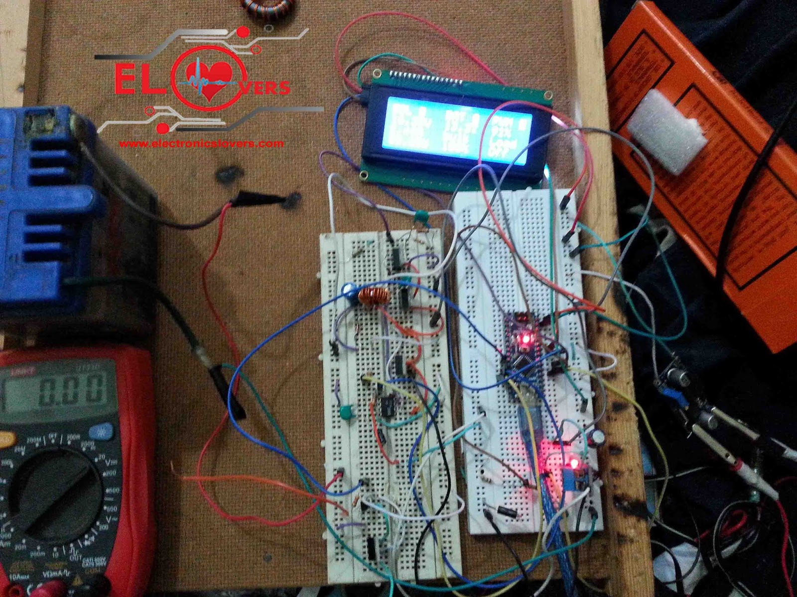 Home Made Maximum Power Point Tracking Mppt Charge Controller Boost Converter With Diy Solar Algorithm For System
