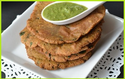 Singhare Aate Ka Paratha Recipe
