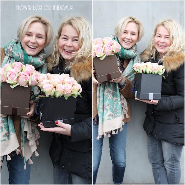 Maja Popielarska i nasze Flower Box pełne róż