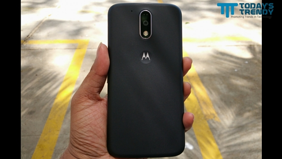 Moto G4 Plus rear