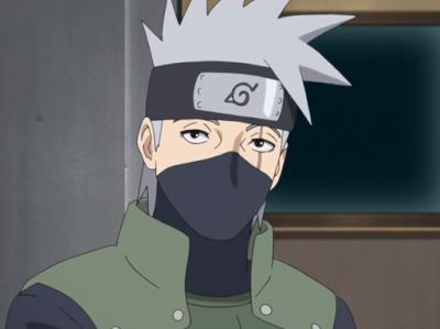 Karakter Pria Rambut Warna Putih