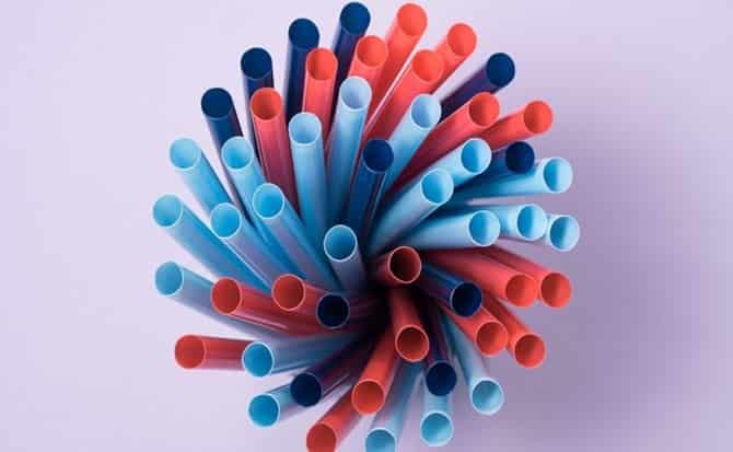 Plástico, vaso, ecología